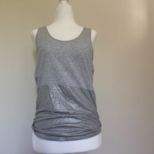 Lululemon all tied up tank in grey 6
